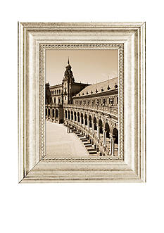 Burnes of Boston Capri Silver 5x7 Frame