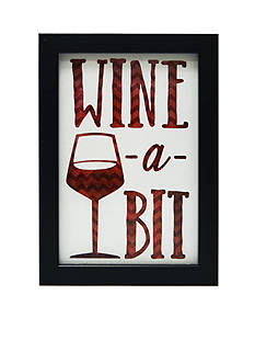 New View Wine-a-Bit Plaque