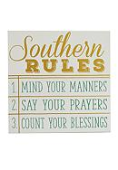 New View Southern Rules Plaque
