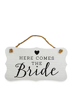New View Bride Hanging Sign
