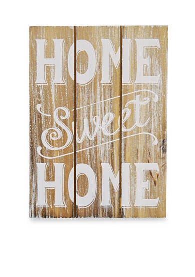 New View Home Sweet Home Plaque