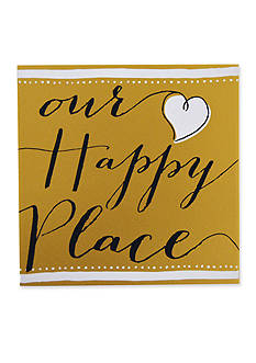 New View Our Happy Place Plaque