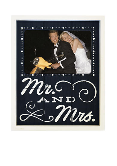 New View Mr. and Mrs. Wood Screened 4x6 Frame