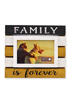 New View 'Family is Forever' Pallet 4x6 Frame