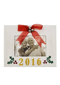 New View 2016 White 4x6 Frame with Holly