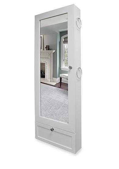 New View Over The Door Jewelry Armoire White Belk