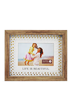 New View 'Life is Beautiful' Float 4x6 Frame