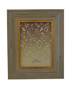 New View Gray and Gold 5x7 Frame