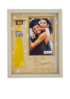New View 4 x 6 Tassel Frame Dream It Do It