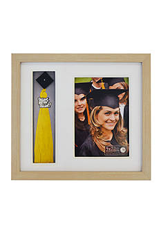 New View 5x7 Tassel Holder Shadowbox Frame