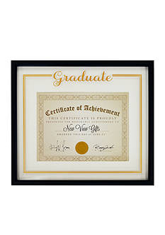 New View Diploma Frame - Black