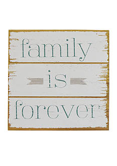 New View Family Is Forever Plaque