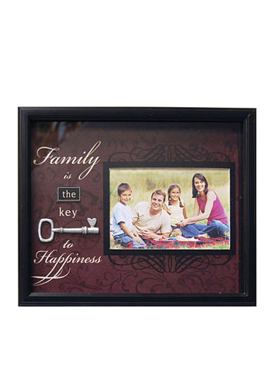 New View Found Object Family Key to Happiness 6x4 Frame