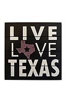 New View Live, Love, Texas Plaque