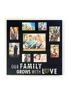 New View Our Family Grows With Love Collage Frame