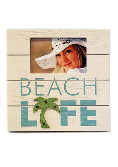 New View Beach Life 6x4 Frame