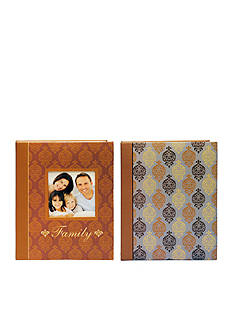 New View Spice Damask 4x6 Photo Albums Set of 2