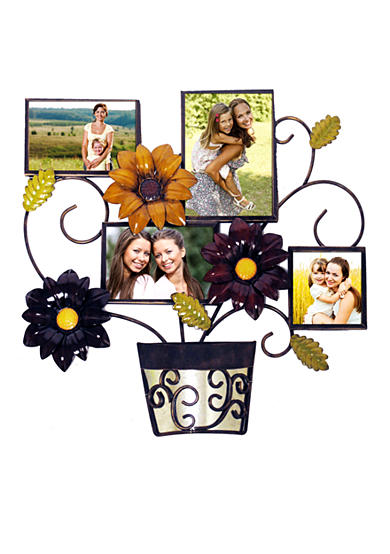 New View Sunflower Pot Wall Collage