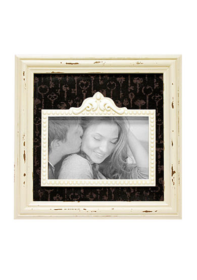 New View Antique Elegance Cream and Black 6x4 Frame