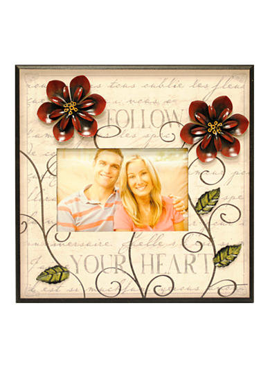 New View Follow Your Heart Vintage Accents 6x4 Frame