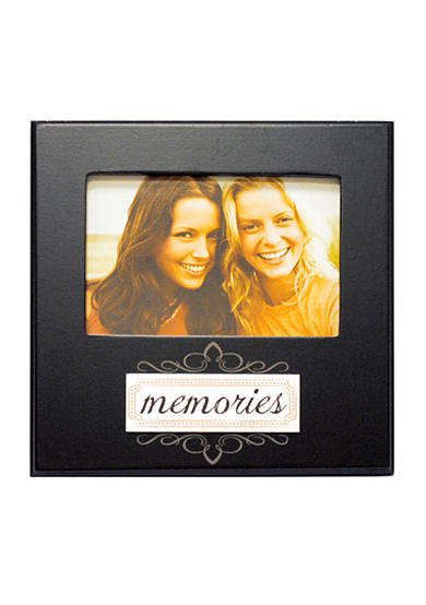 New View Memories Black 6-in. x 4-in. Frame