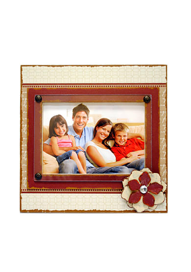 New View Antique Elegance Cream and Red 7x5 Frame