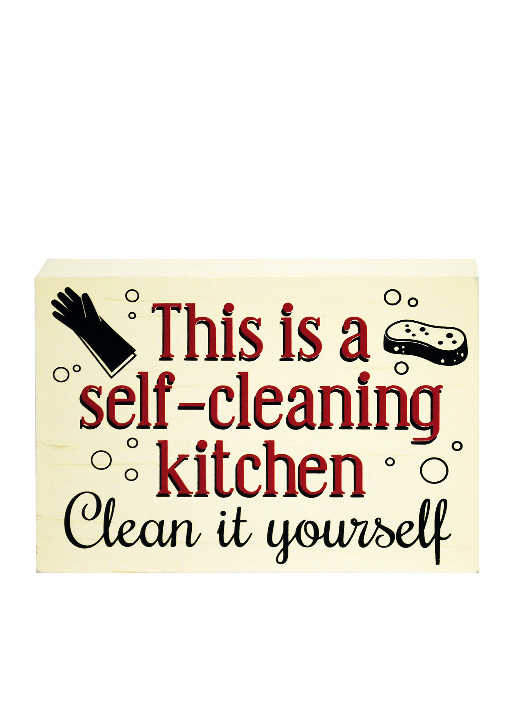 New View Self Cleaning Kitchen Plaque | belk