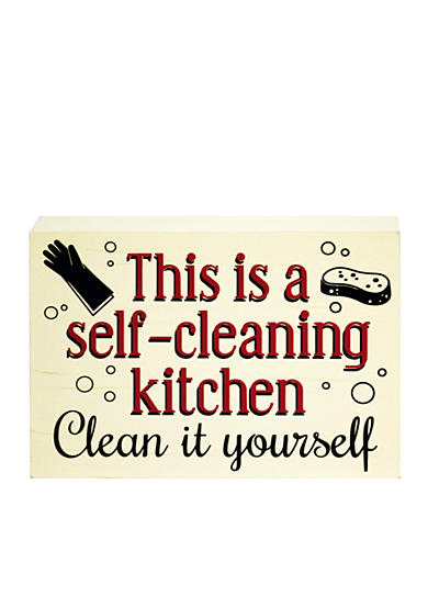 New View Self Cleaning Kitchen Plaque