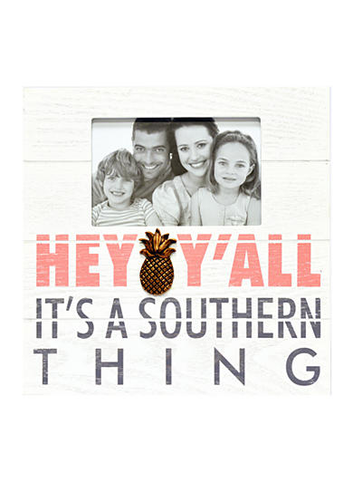 New View Hey Y'all, It's a Southern Thing 4x6 Photo Plaque