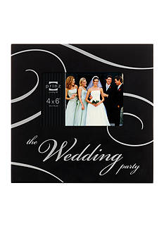 Prinz Ltd. The Wedding Party 4x6 Frame - Online Only