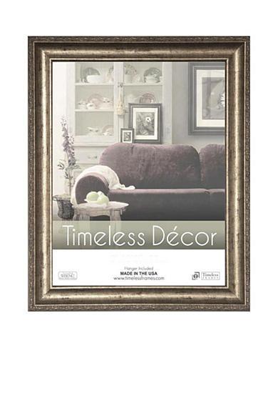 Timeless frames milano silver 9x12 frame online only belk for Home decor milano
