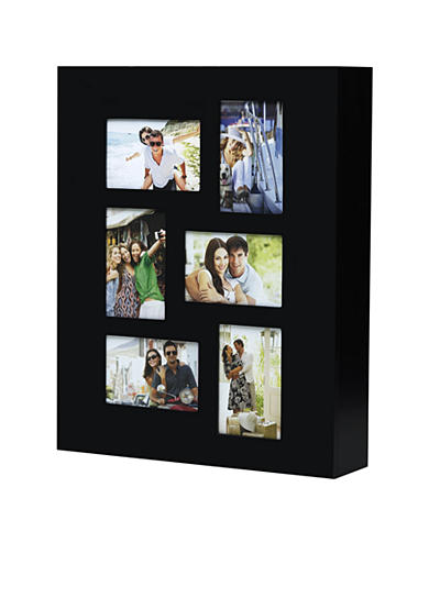 Melannco International Black Photo 4x6 Jewelry Cabinet
