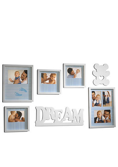 Melannco International 7 Piece Baby Wall Frame Set