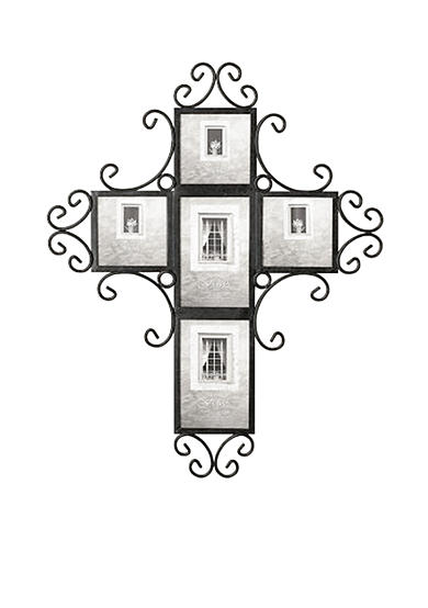 fetco home decor 5 opening cross collage frame