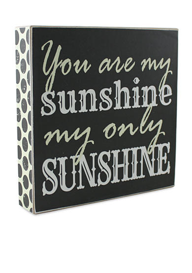 Fetco Home Decor You are my Sunshine my only Sunshine