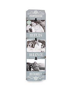 Fetco Home Decor 'We Do Family' Triple Clip Frame