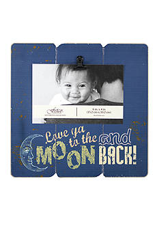 Fetco Home Decor Love Ya to the Moon and Back 4x6 Frame