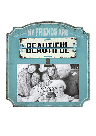 Fetco Home Decor My Friends Are Beautiful 4x6 Frame
