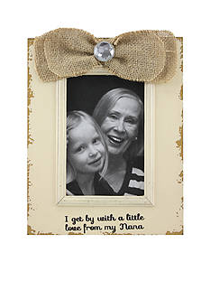 Fetco Home Decor Ribbon Little Love from Nana 4x6 Frame