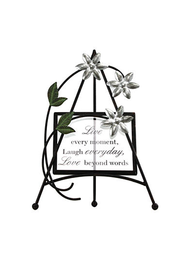 Fetco Home Decor Halle Live, Laugh, Love Sentimental Easel