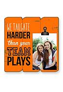 Fetco Home Decor We Tailgate 4x6 Plank Frame