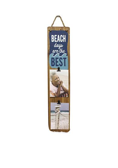 Fetco Home Decor Beach Days 4 in x 6 in Clip Frame Belk