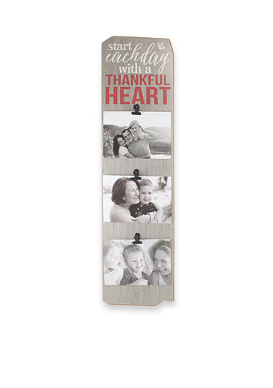 Fetco Home Decor Start Each Day with a Thankful Heart 4x6