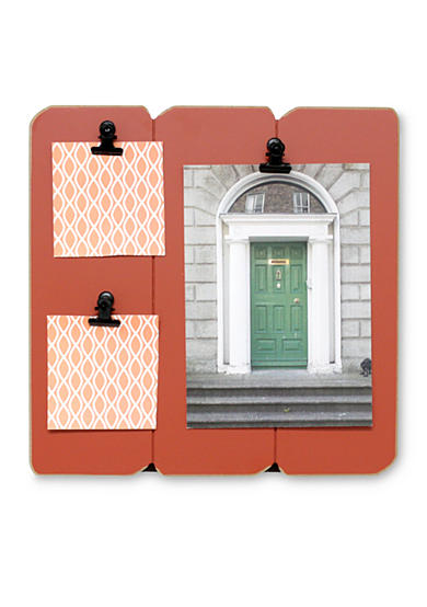 Fetco Home Decor Slats Clip Collage Spiced Pumpkin Belk