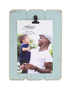 Fetco Home Decor 4x6 Clip Frame - Fog Blue