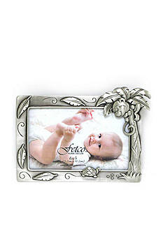 Fetco Home Decor Baby Monkey Pewter Frame