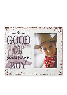Fetco Home Decor Good Ol' Southern Boy 4 x 6 Frame