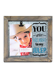 Fetco Home Decor You are the Mint to my Julep Avadon Clip Frame