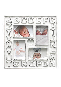 Fetco Home Decor Alphabet 4x6 Frame