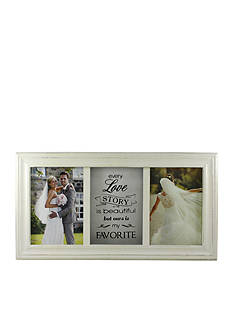 Fetco Home Decor Leighanne Favorite Love Story 5 x 7 Double Frame